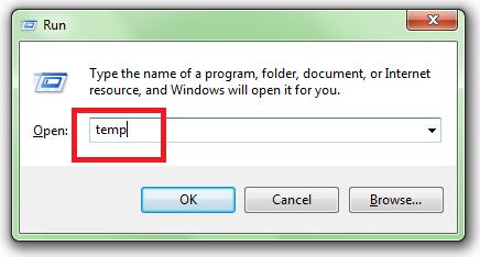 fast laptop speed delete temp file 1