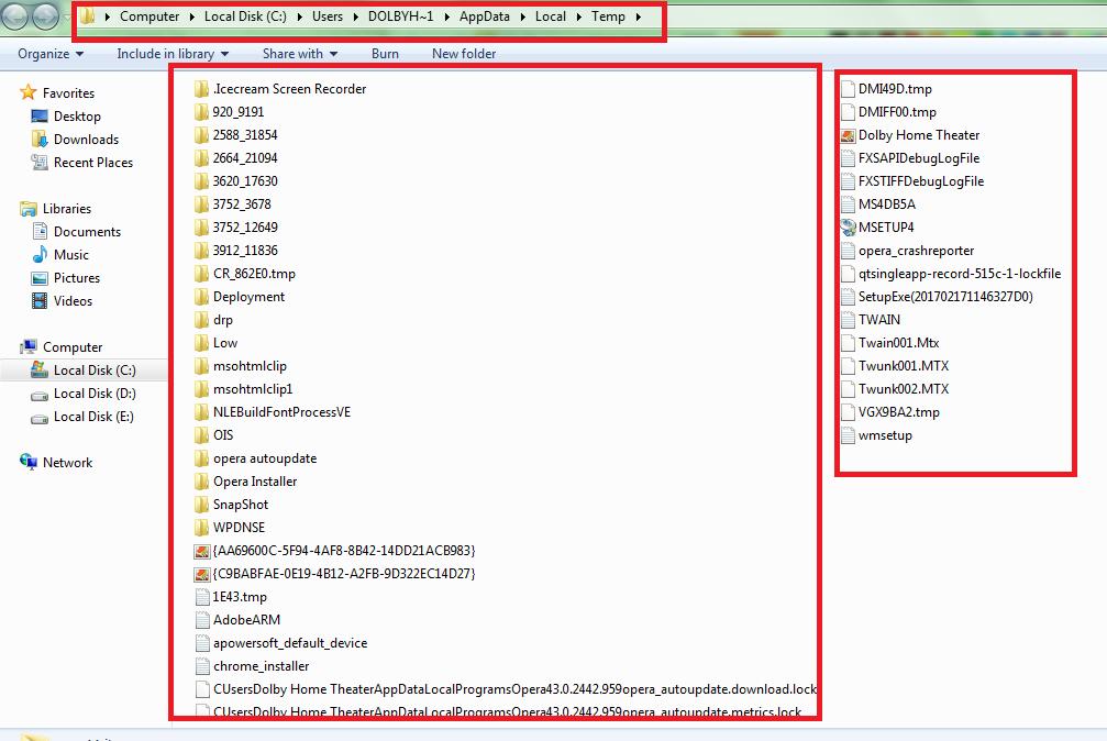 fast laptop speed delete temp file 3