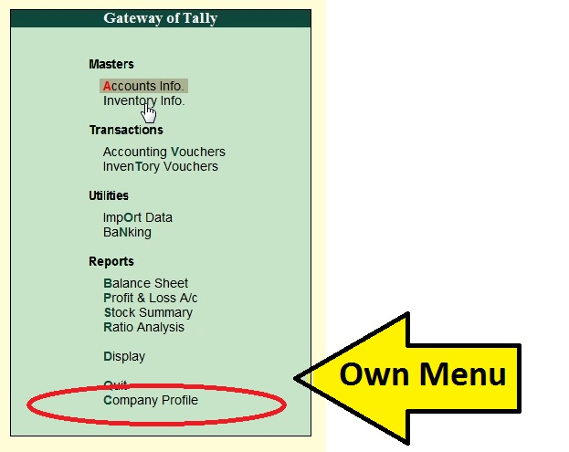 TDL Deployment, How Customised the tally by TDL features?, Design your own Menu for Tally, Learn How to do Customization in tally, tdl in tally erp 9, what is tdl, tally customization, tally add on features, TDL Deployment for Tally ERP 9, How Customised the tally erp 9 by TDL features?, Design your own Menu for Tally erp 9,